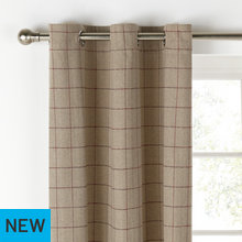 Heart of House Firth Lined Woven Curtains -168x229- Natural
