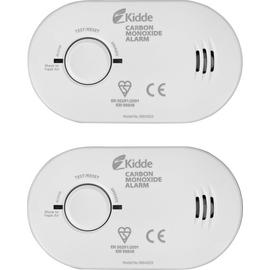 Kidde Carbon Monoxide Alarm Twin Pack
