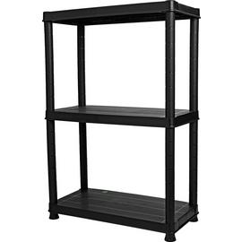 3 Tier Plastic Shelving Unit