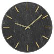 more details on Heart of House Montgomery Marble Wall Clock - Black & Gold