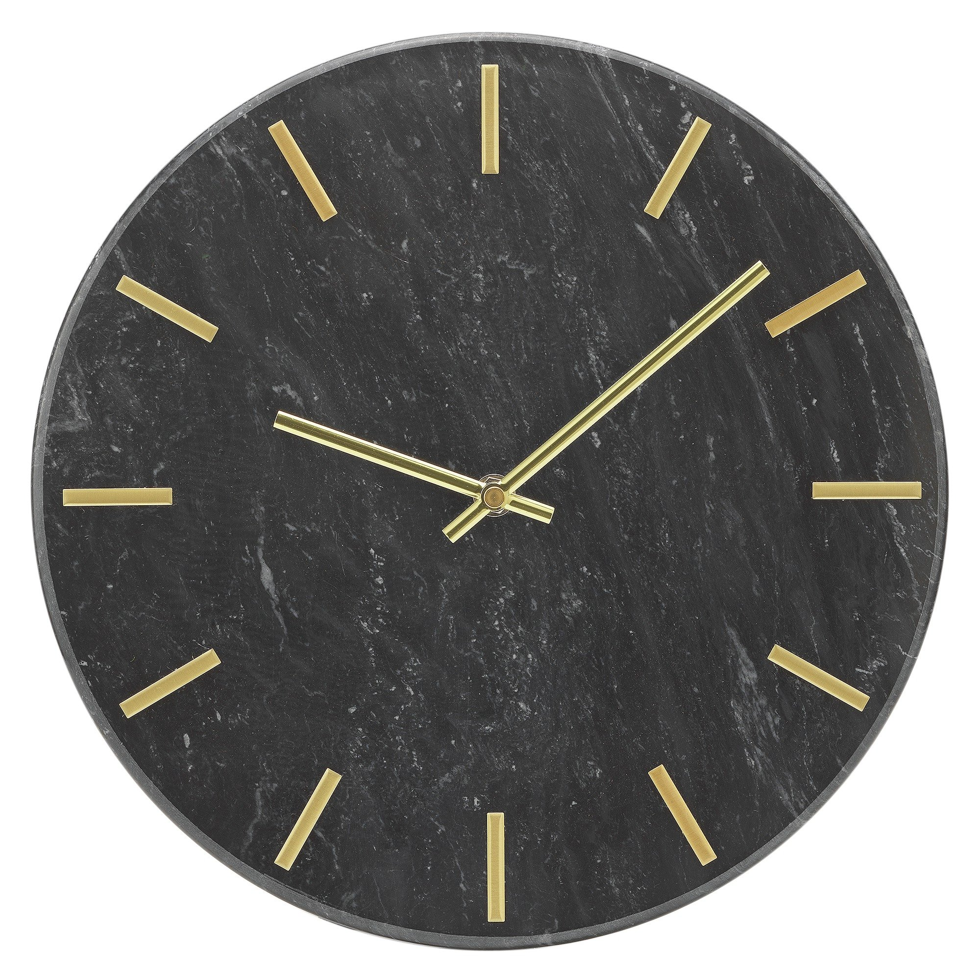 Buy Home Satellite Black Wall Clock At Argos Co Uk Your