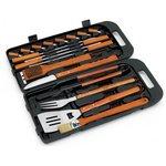 more details on Landmann 18 Piece Bamboo Tool Set
