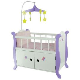 Olivia's Little World Little Princess Doll Nursery Bed.