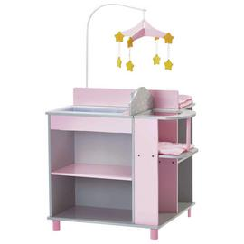 Olivia's Little World Polka Dot Doll Baby Changing Station.