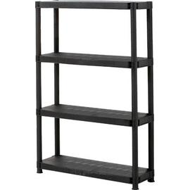 4 Tier Plastic Shelving Unit