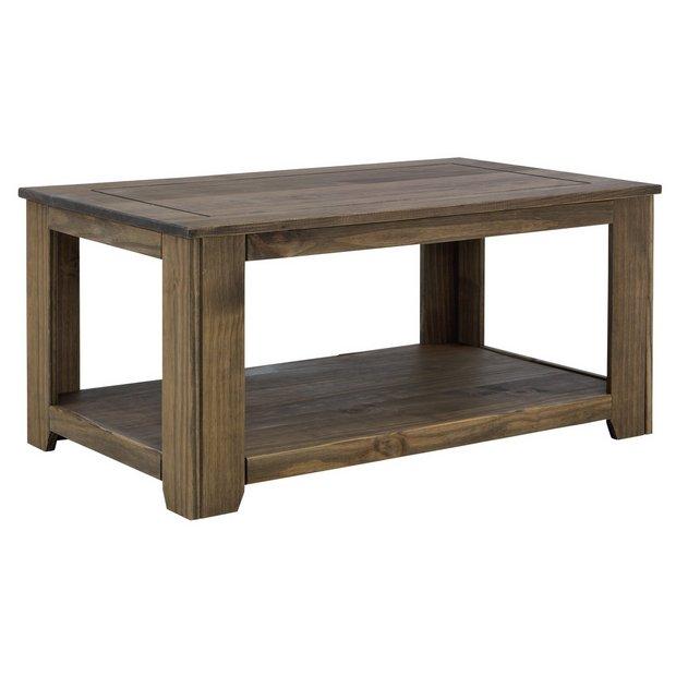 Solid Pine Coffee Table.Buy Argos Home Amersham Solid Wood Coffee Table Dark Pine Coffee Tables Argos
