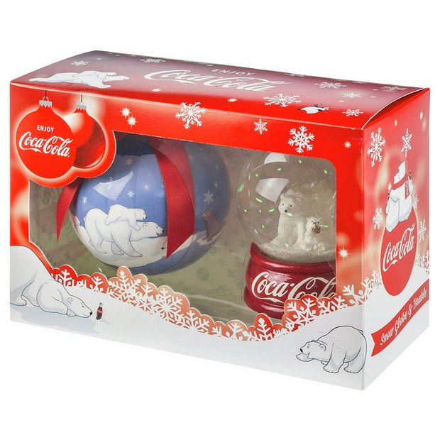 Buy Coca-Cola Snow Globe and Bauble at Argos.co.uk - Your Online ...