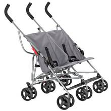 Cuggl Elder Double Pushchair - Grey
