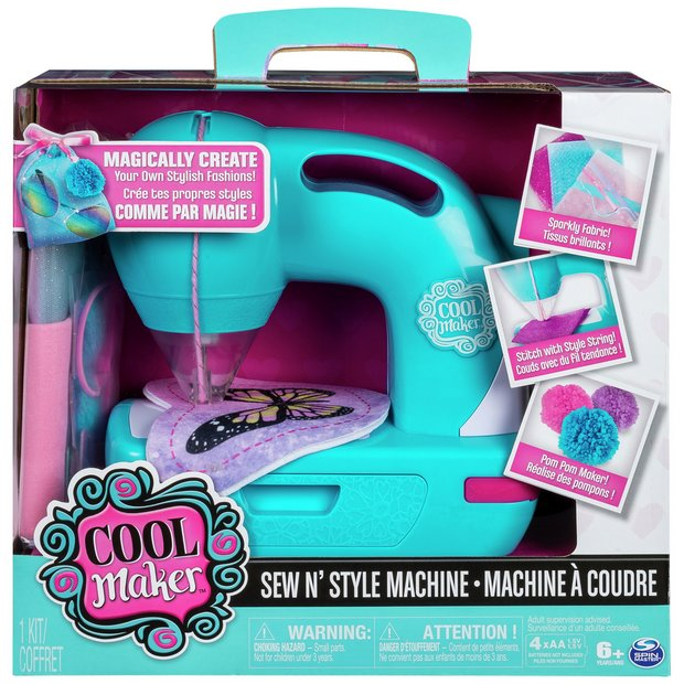 Buy Cool Maker Sew N\' Style Sewing Machine | Toy craft kits | Argos