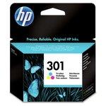 more details on HP 301 Tri-colour Original Ink Cartridge (CH562EE).