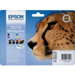 more details on Epson T0715 Cheetah Quad Multi-pack of Ink Cartridges.