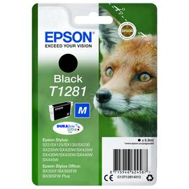 Epson T1281 Fox Ink Cartridge - Black