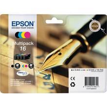 Epson 16 Pen Ink Cartridges - Black & Colour