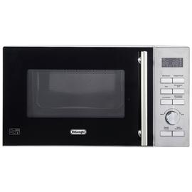 De'Longhi 900W Combination Microwave D90D - Stainless Steel