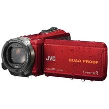 JVC GZ-R435 Full HD Camcorder - Red