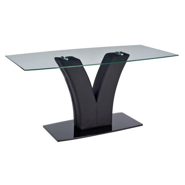 Buy Argos Home Oriana Glass Coffee Table Black Coffee Tables Argos