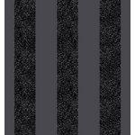 more details on Arthouse Glitterati Stripe Wallpaper - Black.