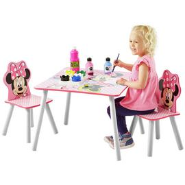 Disney Minnie Mouse Table & 2 Chairs