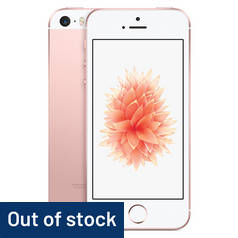 SIM Free iPhone SE 128GB Mobile Phone - Rose Gold