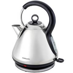 Cookworks Pyramid Kettle - Polished Stainless Steel