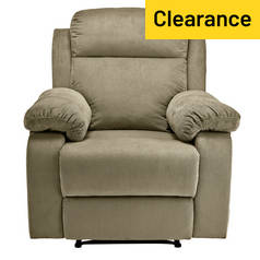 Argos Home New Bradley Manual Recliner Chair - Mink