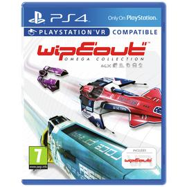 Wipeout Omega Collection PS4 Game (PS VR Compatible)