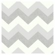 more details on Arthouse Glitterati Chevron Wallpaper - Platinum.