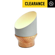 Collection Paulie LED Table Lamp - Wood & Grey