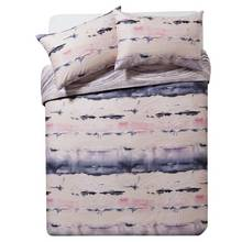 Collection Sofia Blush Marble Bedding Set - Double