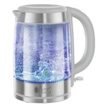 Russell Hobbs Illuminating Glass White Kettle 21601-10