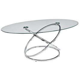 Argos Home Atom Glass Coffee Table
