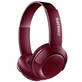 Philips SHB3075 Wireless On-Ear Headphones - Red
