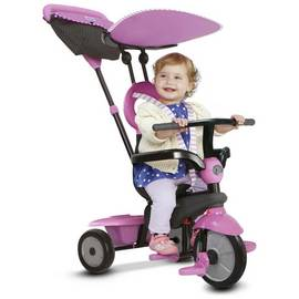 14e9a3f9073 smarTrike 4-in-1 Vanilla Tricycle - Pink