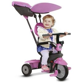 smarTrike 4-in-1 Vanilla Tricycle - Pink