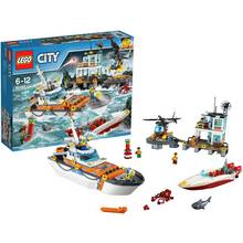 LEGO City Coast Guard Head Quarters - 60167