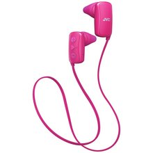 JVC Gumy In-Ear Wireless Sports Headphones - Pink