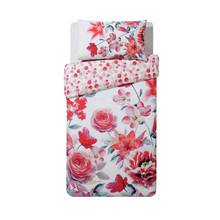 HOME Lily Graphic Floral Bedding Set - Single