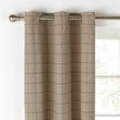 Heart of House Firth Lined Woven Curtains -117x137- Natural