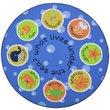 Slip Resistant Circle Rug - 200x200cm - Under the Sea
