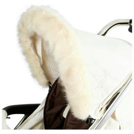 My Babiie Fur Hood Trim - Cream