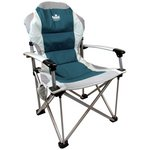 more details on Royal Commander Chair - Blue