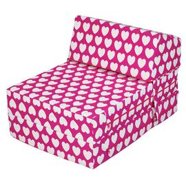 Argos Home Hearts Flip Out Chair Bed