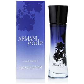 Results For Armani Code