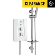 Bristan Joy 8.5kW Electric Shower - White