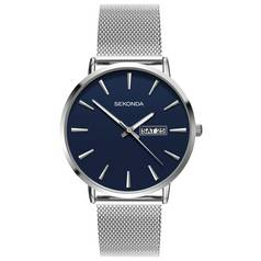 Sekonda Men's Blue Dial Mesh Bracelet Watch