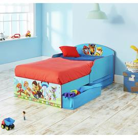 Paw Patrol – Children's Bed with Under-Bed Storage Best Price and Cheapest
