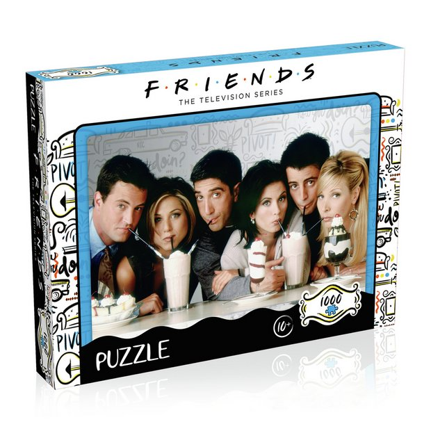 Licensed 3 x 1000 Piece Jigsaw Puzzle