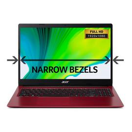 Acer Aspire 3 15.6in Celeron 4GB 128GB FHD Laptop - Red