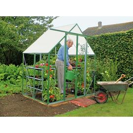 Norfolk Greenhouses Twin-walled 6 x 4ft Ultimate Greenhouse