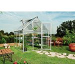 more details on Mill Poly twin-walled 6 x 6ft Greenhouse.